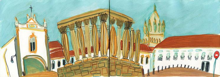 Templo Romano. EVORA
