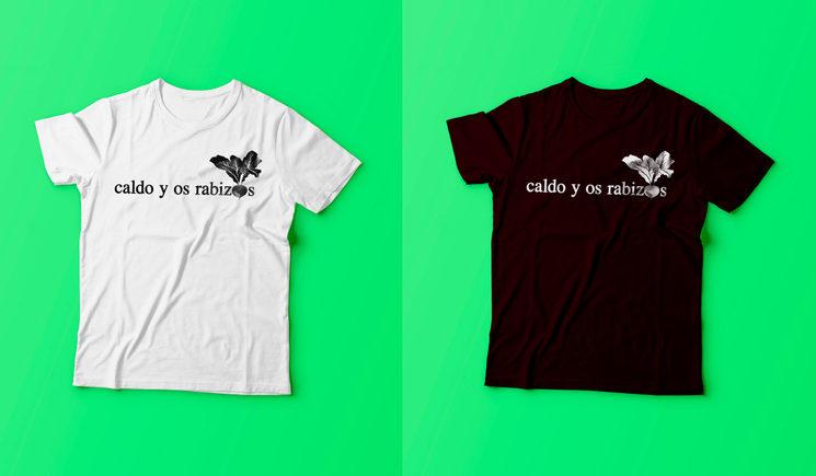 T-shirt Caldo y Os Rabizos