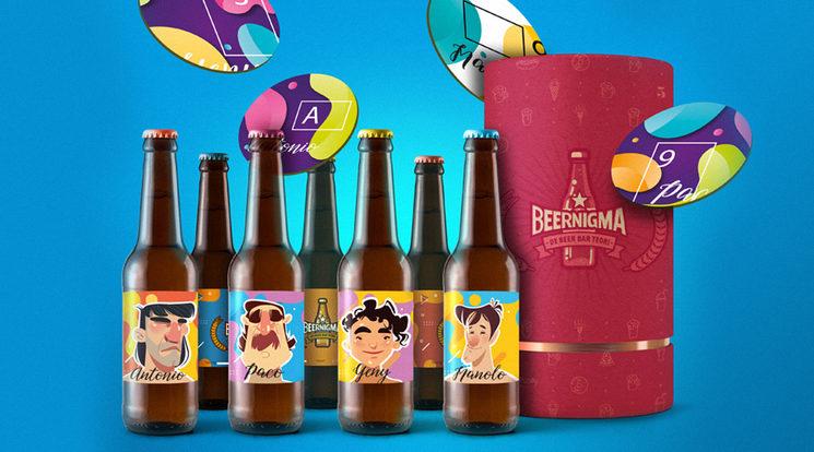 Tiempo de cervezita al aire libre, tiempo de risas y Beernigma !