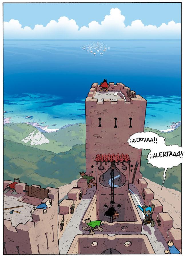 Invasió de la fortalesa del Makas, a Escàpula.