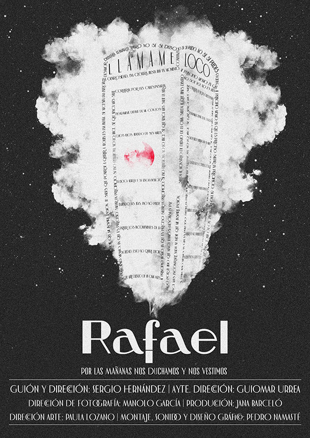 Póster del cortometraje Rafael
