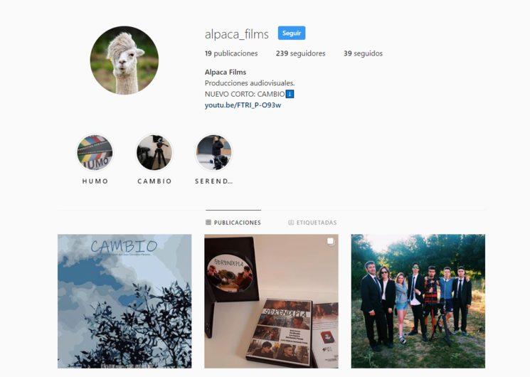 Instagram de Alpaca Films