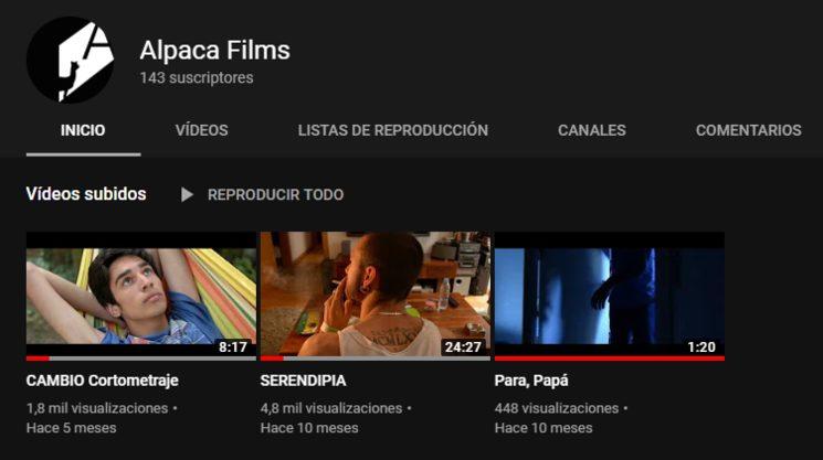 Canal de Alpaca Films