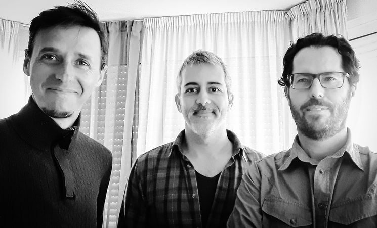 David Bailón, Rodrigo Vázquez y Javier Lima