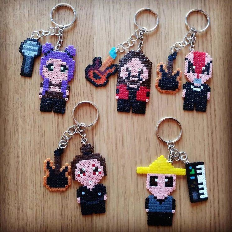Nane, David, Juanjo, Sebas y Víctor miniaturizados (¡hazte con todos! :D)