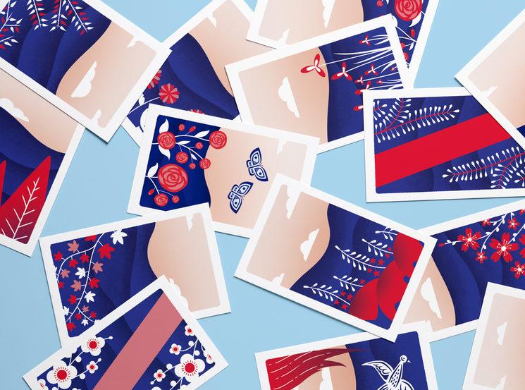 Hwatu flower cards