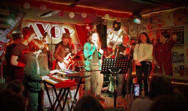 Concierto Escuela de Música Meidinerz en Savoy