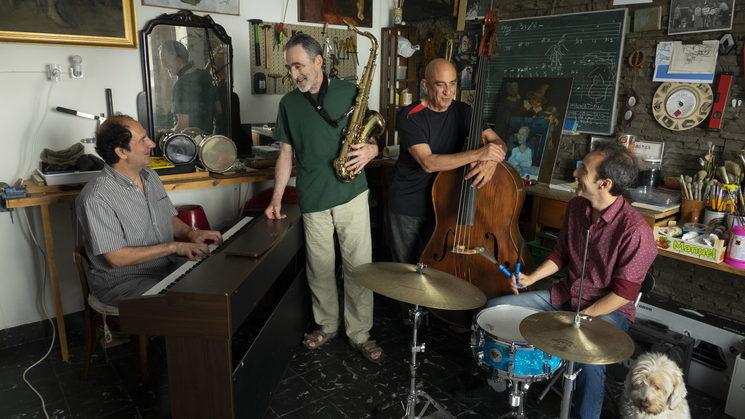 """(Ximo Caffarenas Quartet """"XCQ"""")"""