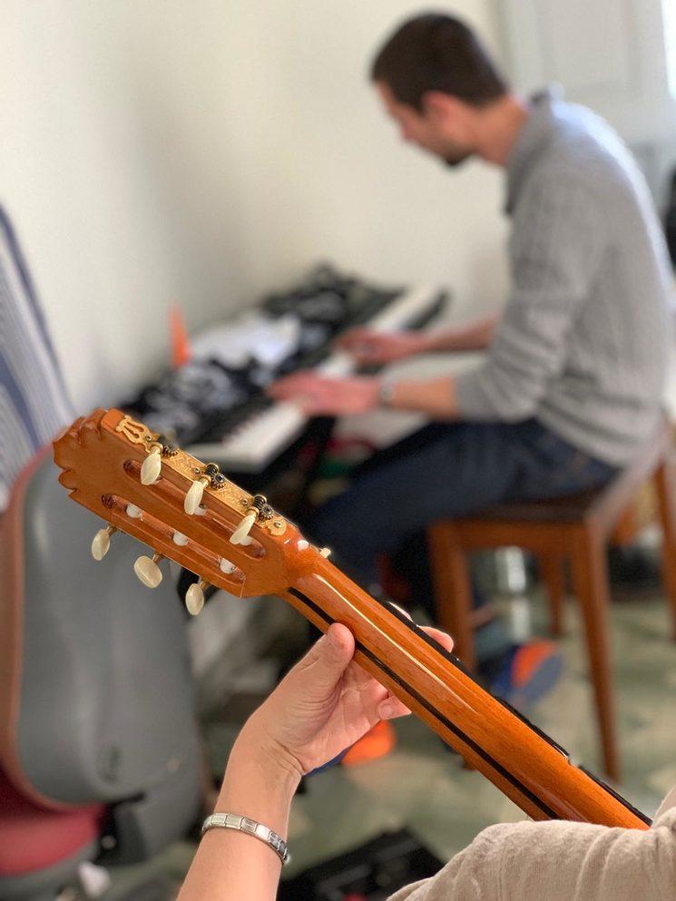 La música és part bàsica en aquest projecte