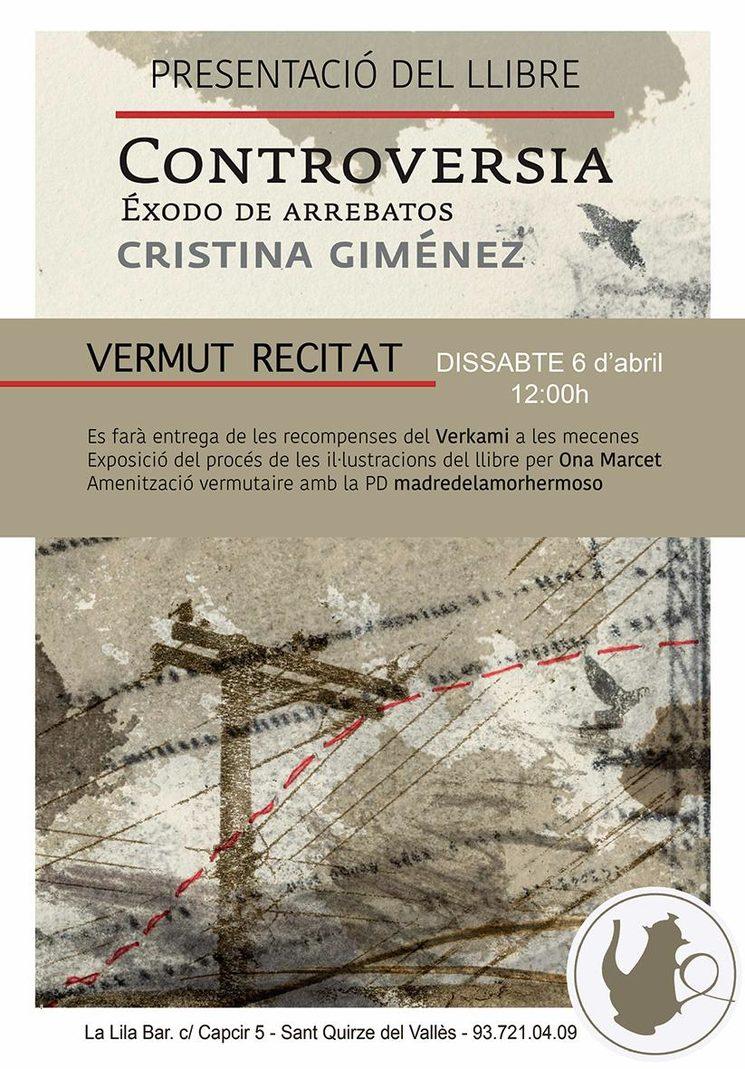 6 d'abril - Presentació del llibre de Controversia - éxodo de arrebatos