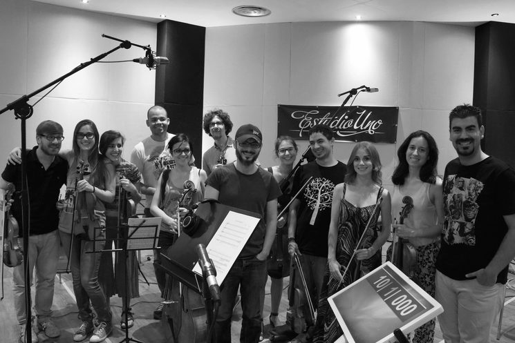 Mad4strings. Estudio Uno, Madrid.