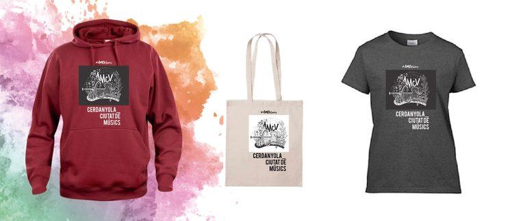Dessuadora, bossa i samarreta exclusives #AMCVsons.