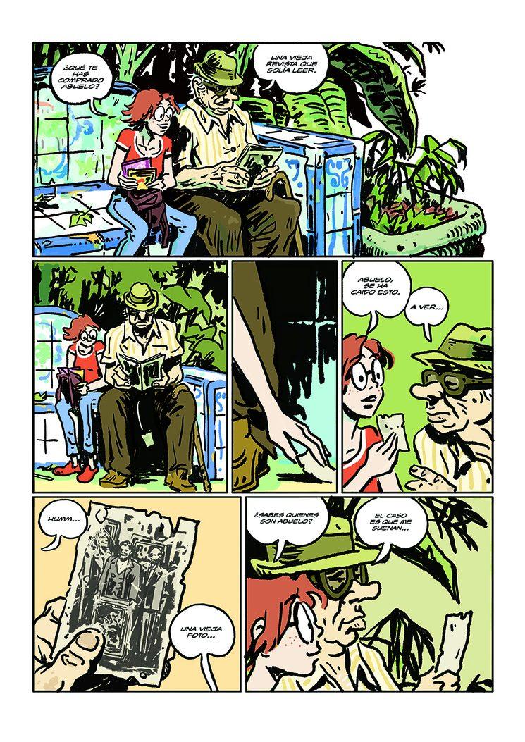 Rodrigo Vázquez os presenta su segunda página del cómic