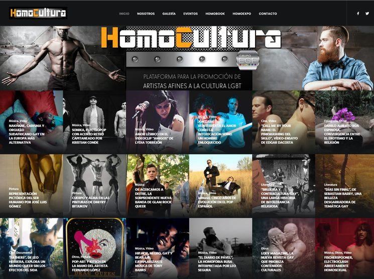 web www.Homocultura.com