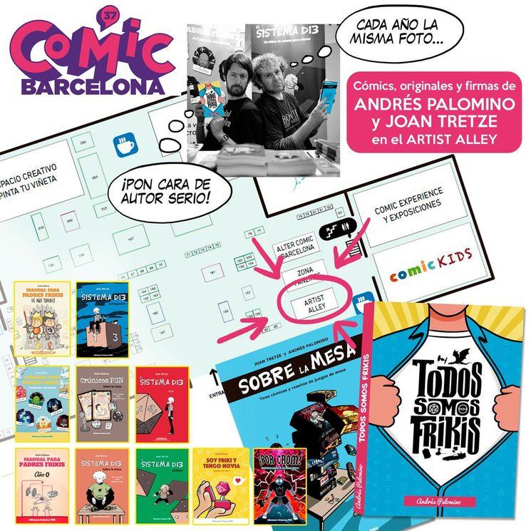 La Mazmorra del Androide en el Còmic Barcelona '19