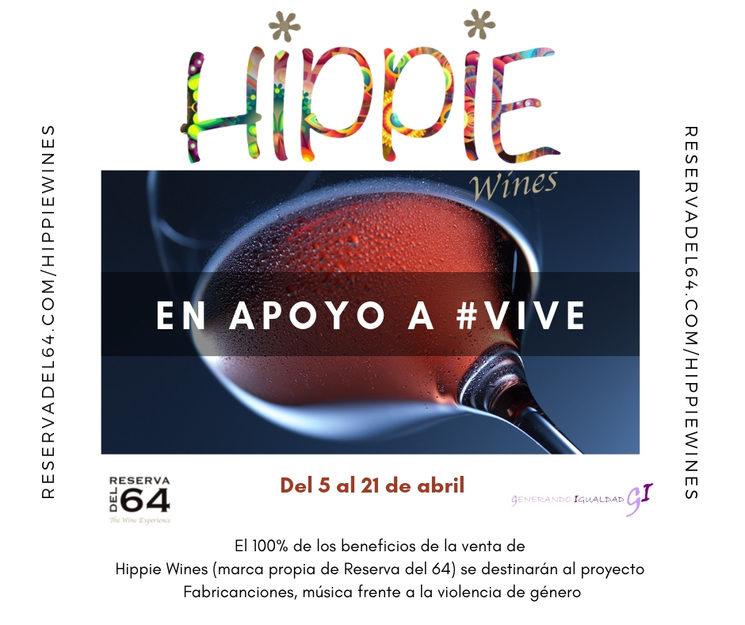 Hippie Wines en apoyo a VIVE