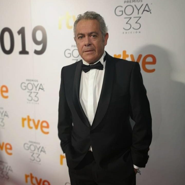 Estani Peinado in the last edition of the Goya Awards