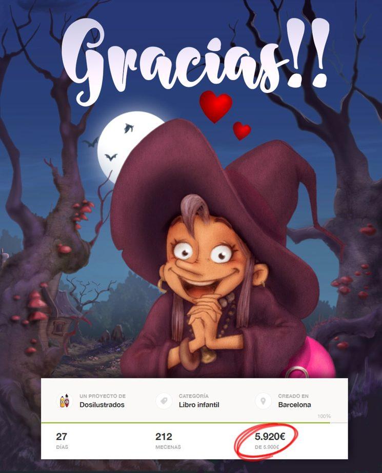 ¡¡¡La bruja Pampurrias está feliz porque os conocerá a todos vosotros!!