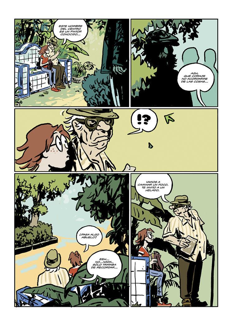 """Nueva página del cómic """"El misterio de la calle Viento"""""""