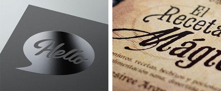 Ejemplos: Izquierda: uvi / Derecha: Bajo relieve