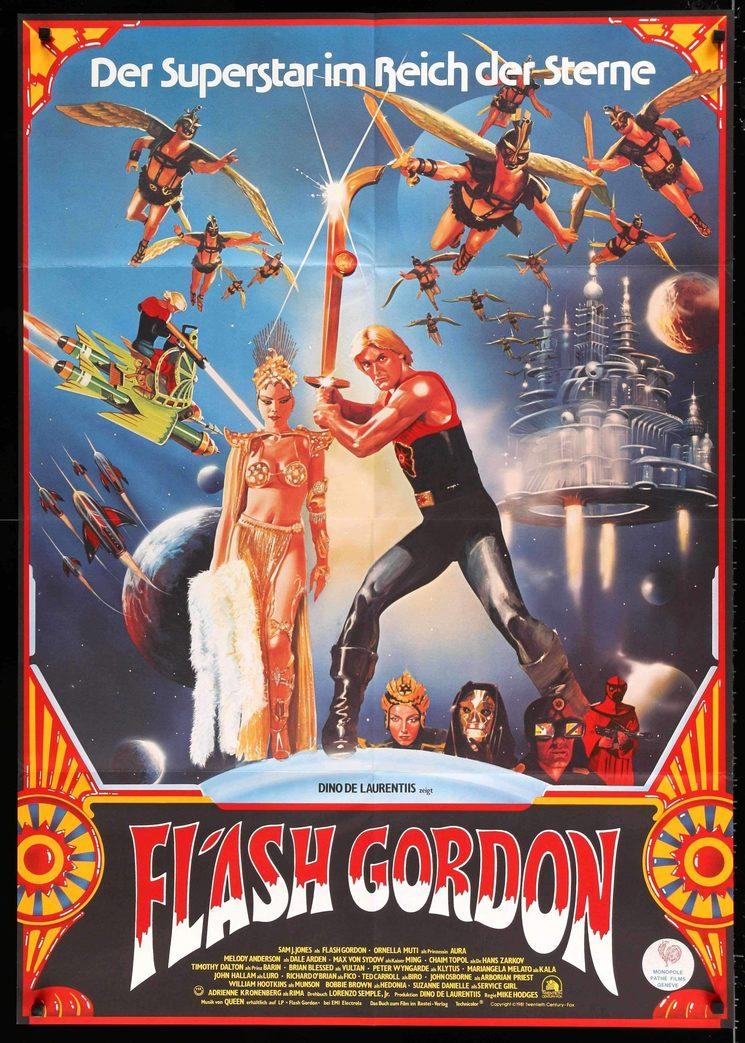 """Poster de """"Flash Gordon"""""""