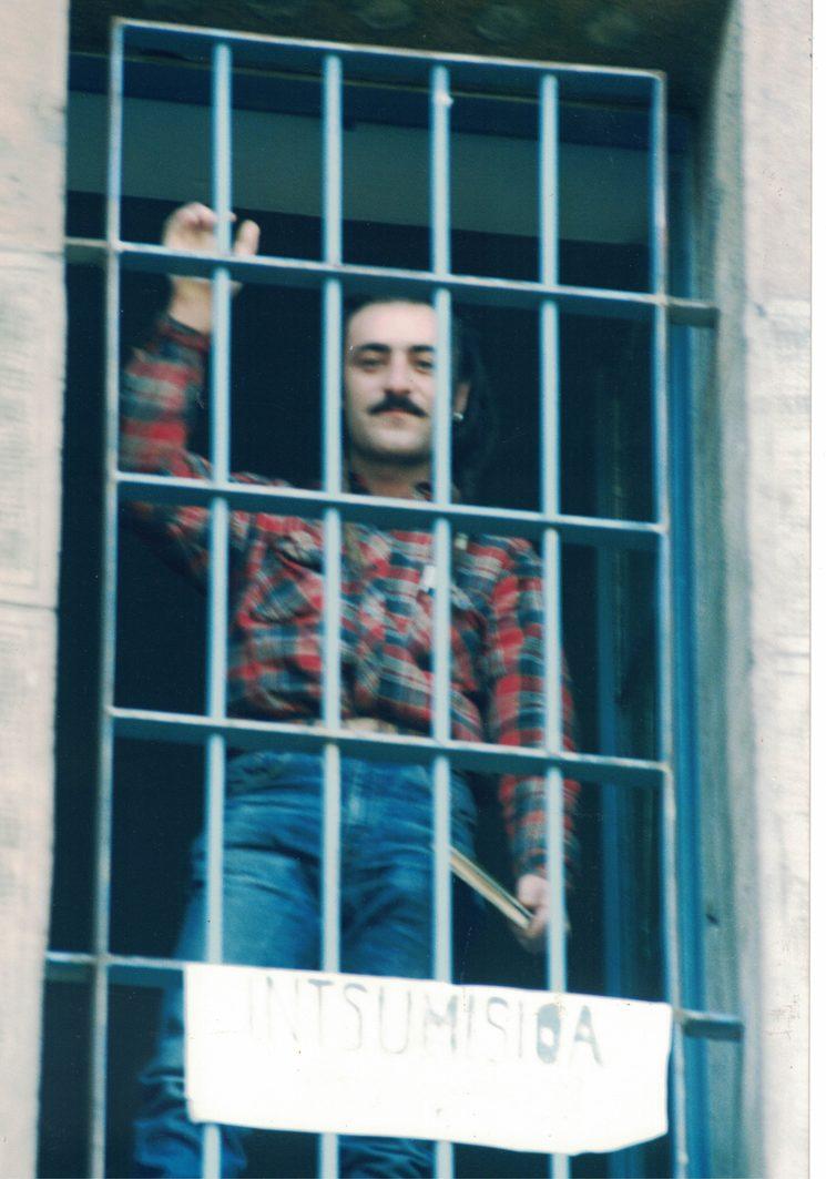 Tonino Carotone at Pamplona prison