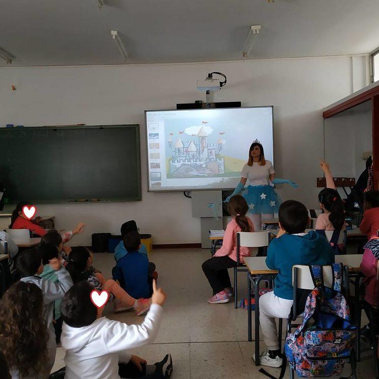 En el CEIP Cruz del Río, de Villanueva de la Serena
