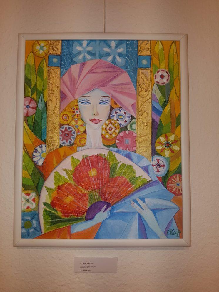 Pintura: La mujer del abanico