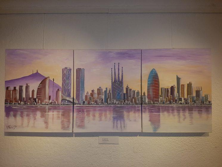 Pintura: Luz de Barcelona