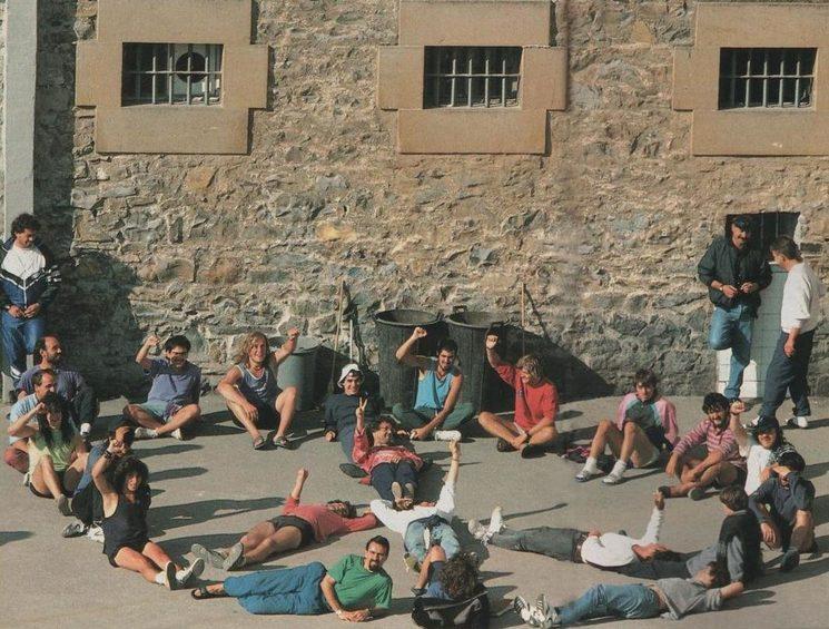 Insumisos en la cárcel de Pamplona
