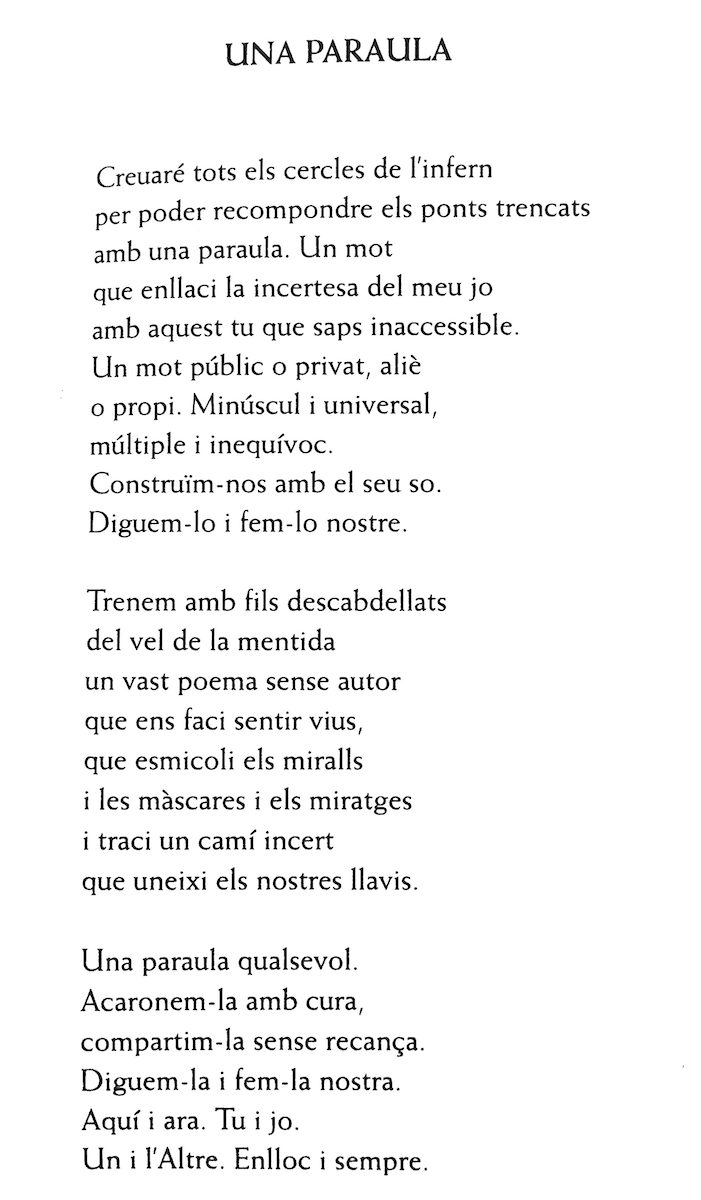 Poema de Mireia Companys