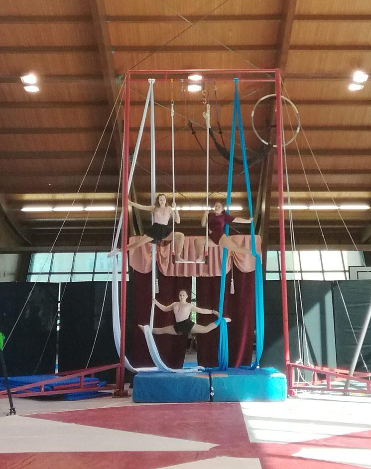 muestra de l@s participantes del segundo encuentro de circo joven