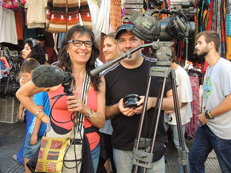 Silvia Di Florio y Gustavo Cataldi (Chango)