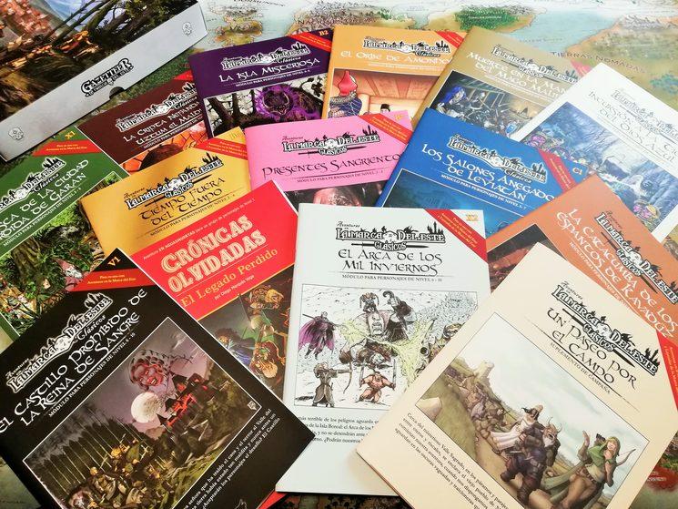 Colección completa a la fecha de las aventuras publicadas en la línea de Clásicos de la Marca