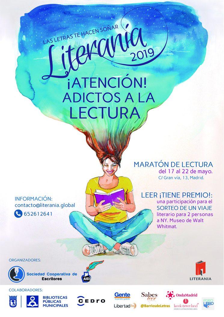 TODOS LOS MECENAS DE LITERANIA ESTÁN INVITADOS A LA INAUGURACIÓN EL DÍA 17 DE MAYO A LAS 17:00 HORAS