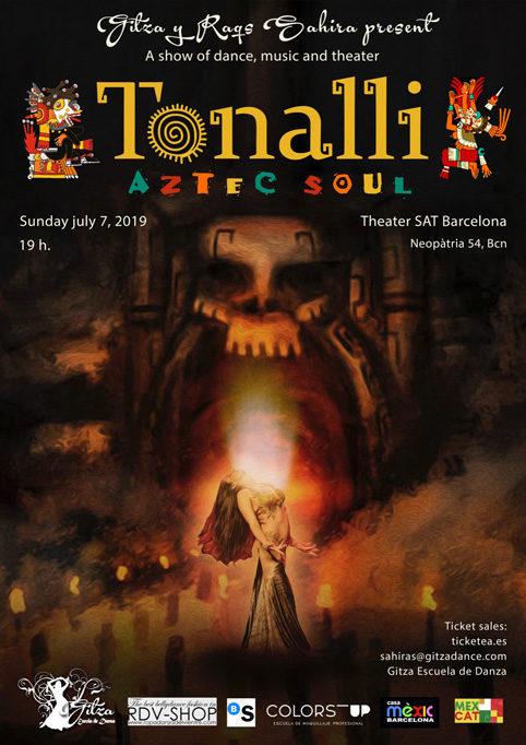 *Tonalli, Aztec Soul*. Show date: July 7, 2019