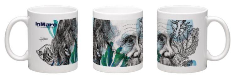 Si eres más de taza, tenemos la tuya. La taza de la paradoja de Darwin ilustrada por Isabel Areitio.
