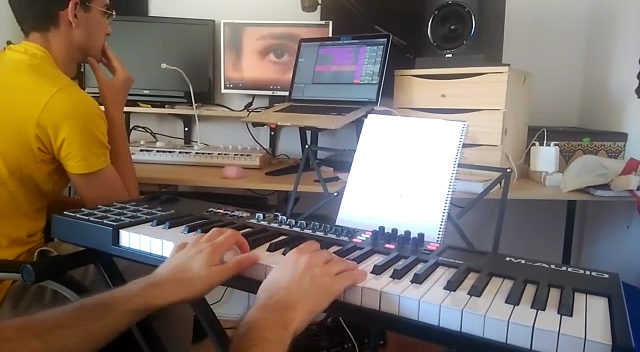 Grabación de la música original para el capítulo 6