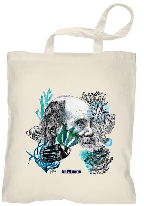 La espectacular bolsa de la paradoja de Darwin, ilustrada por Isabel Areitio.