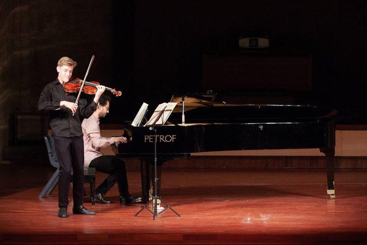 Kristian Sallinen, estudiante de viola del conservatorio Sibelius, premio nacional en Finlandia