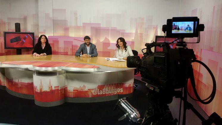 Momentos previos a la entrevista en RTVE Burgos, donde pude relatar mi apasionante historia