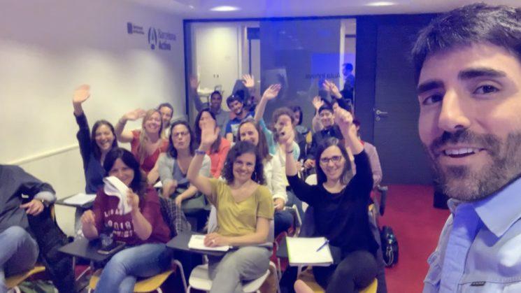 ¡En mi sesión de Barcelona Activa con un 90% de emprendedoras!