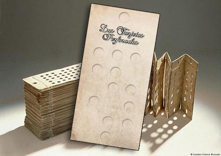 Minicómic Tarjetas Perforadas. ©London Science Museum.