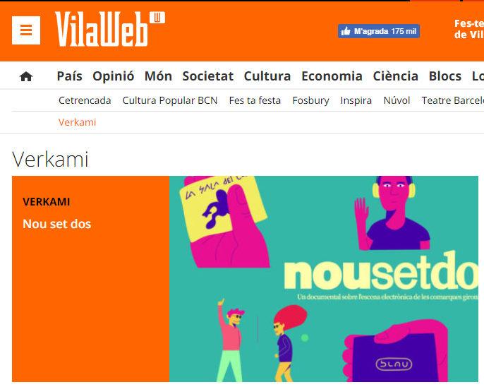 """""""Nou Set Dos"""" a VilaWeb"""