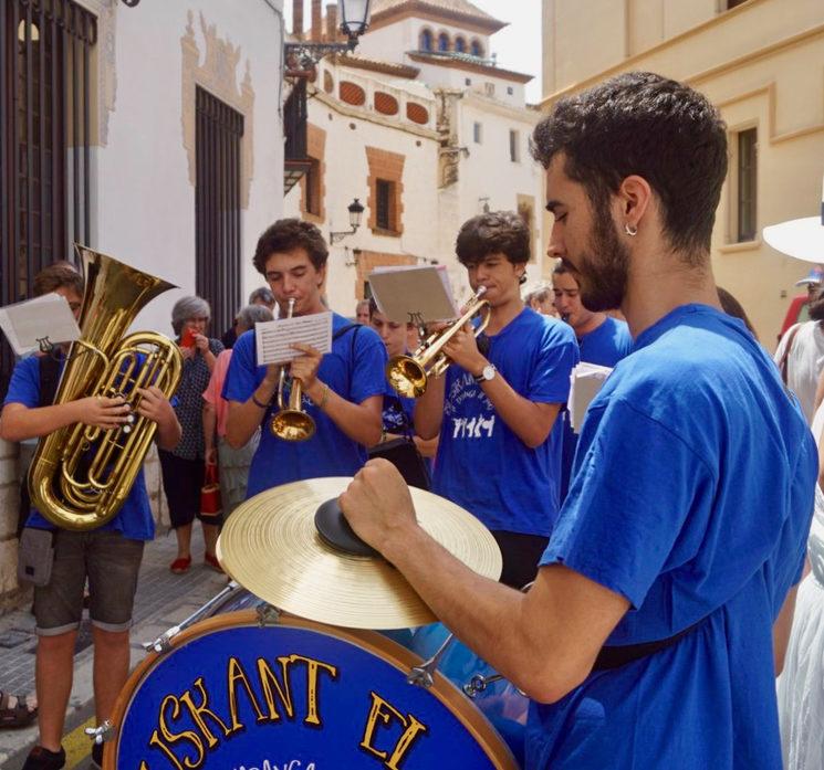 Músics celebrant l