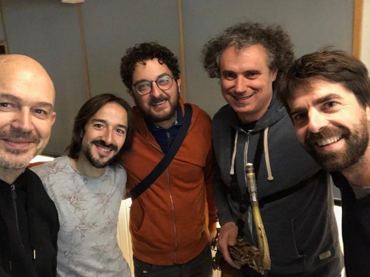 Nacho Mañó, Paco Soler, Voro Gacía, Fco. Latino i Carles Llusar a l