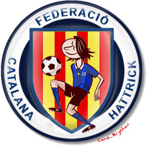 Escut de la Federació Catalana, present al cor