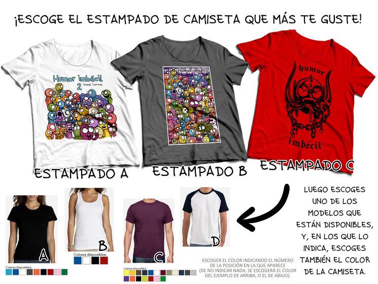 Cómo escoger tu camiseta (A rellenar en el formulario al acabar la campaña)