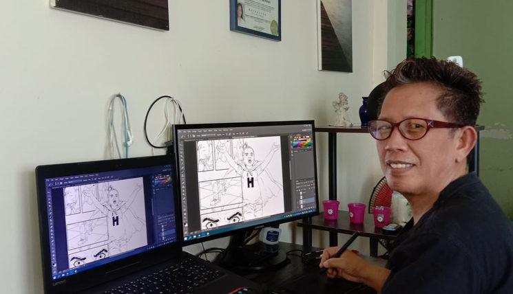 Cleofas, the illustrator of Girl H