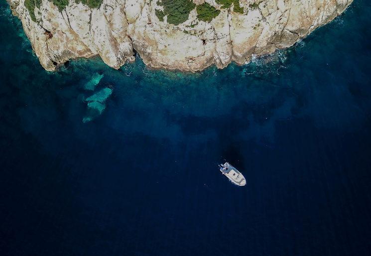 Underwater desert - Illa de Formentor (Mallorca)